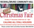 Calling all Stall Holders for Christmas Fair 2018
