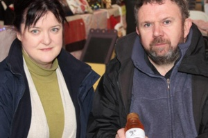 Cathy and Donal Cooper. Ardagh Apiaries
