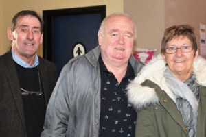 Pat Murphy with Declan and Betty O'Doherty